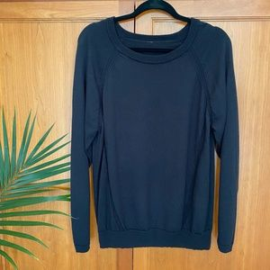 Lululemon Black Lightweight Sweater / 10